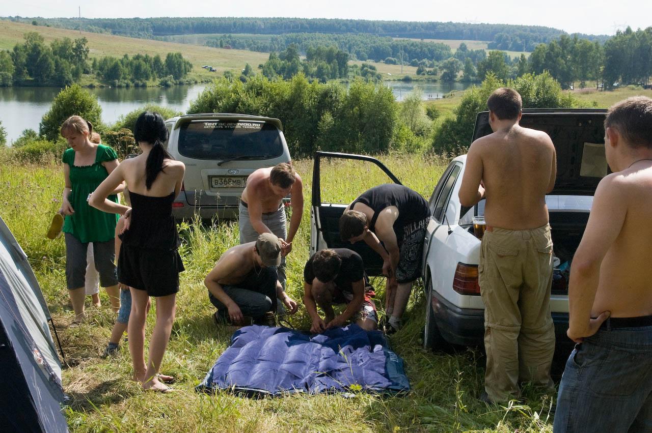 Подготовка к купанию