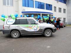 Автопробег в Тюмень
